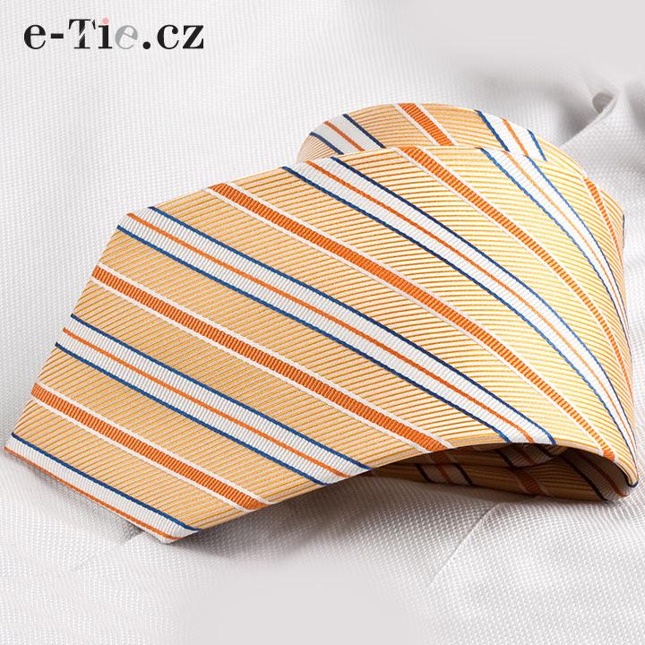Kravata Amable Orange