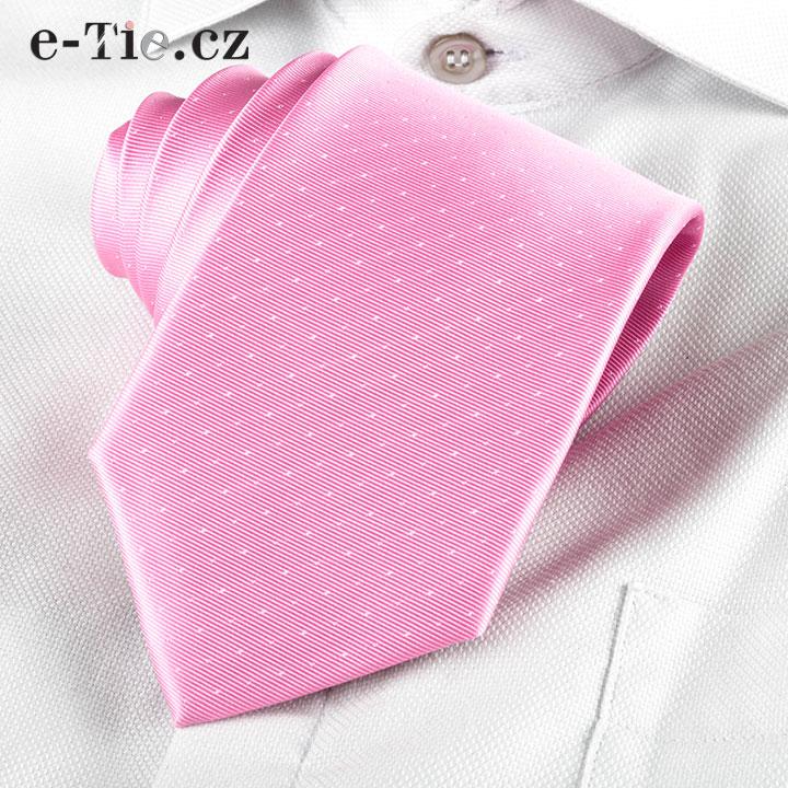 Kravata Giampaolo Pink