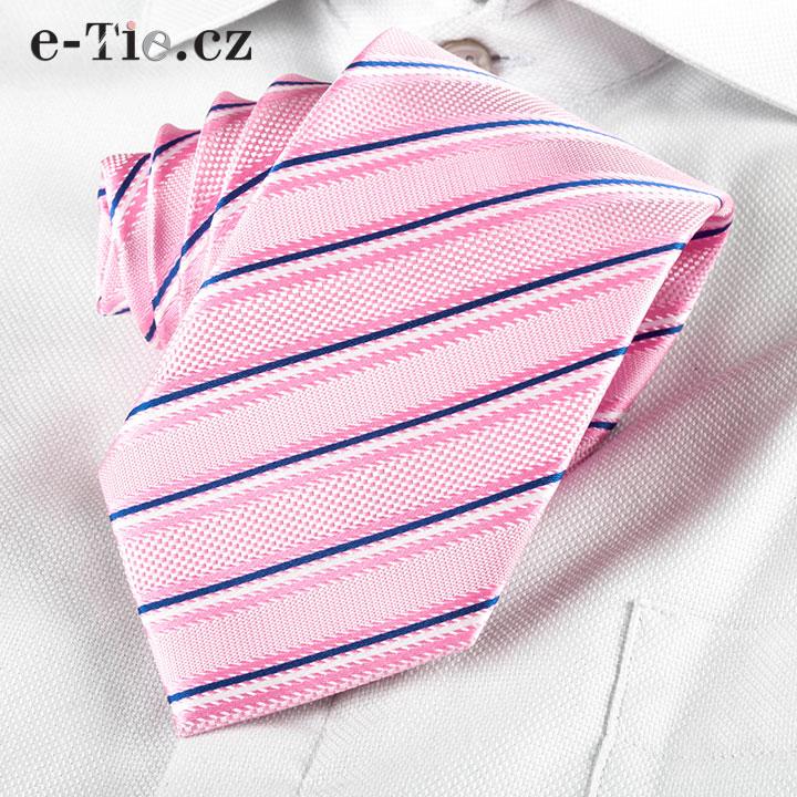 Kravata Giampiero Pink