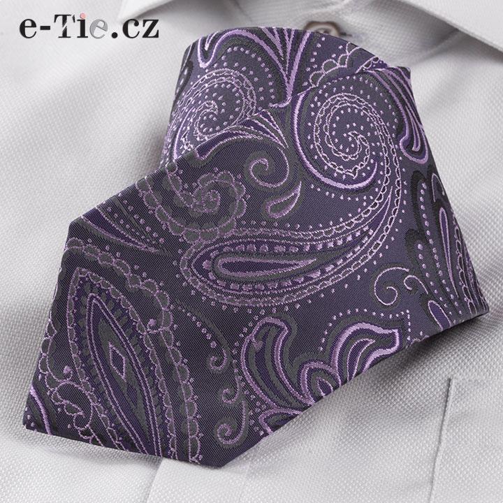Kravata Primo Violet