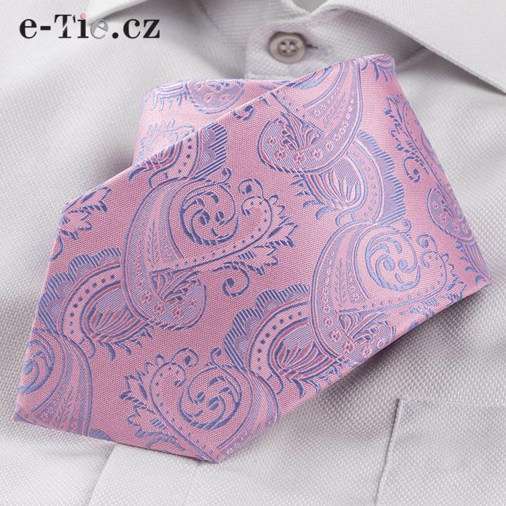 Kravata Prudenzio Pink