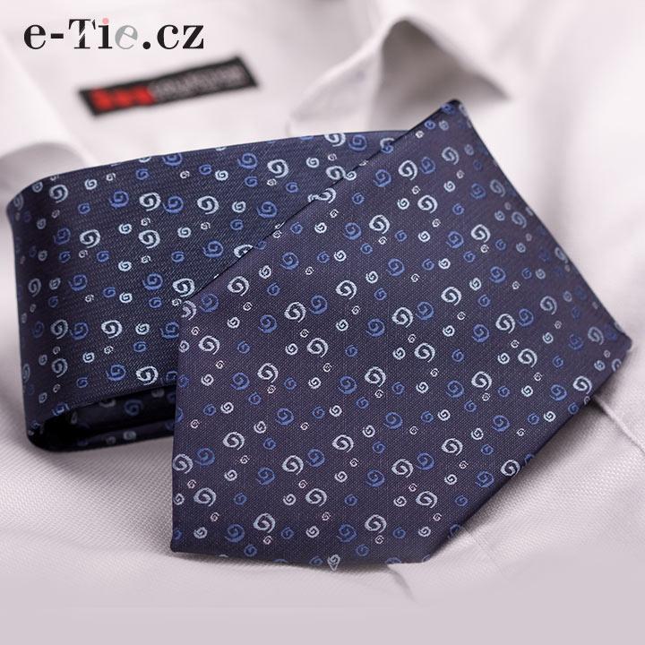 Kravata Benito Dark Blue