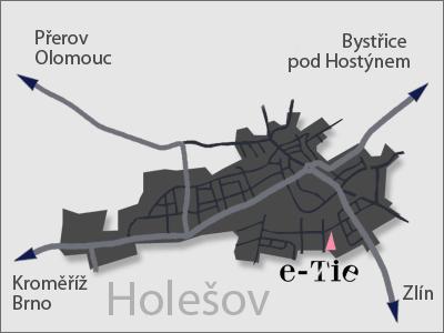 Mapa   varanasi Co., s.r.o.   e-tie.cz