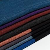 Bavlněné zimní šály z česané bavlny